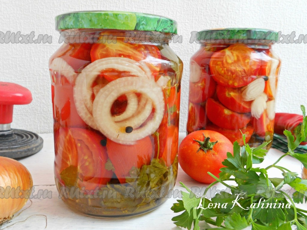 рецепт с фото помидоры пальчики оближешь