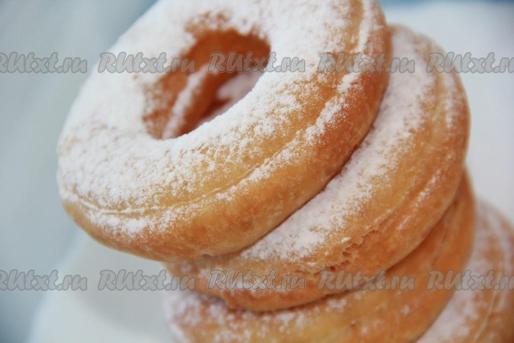 как приготовить с кифира пончики