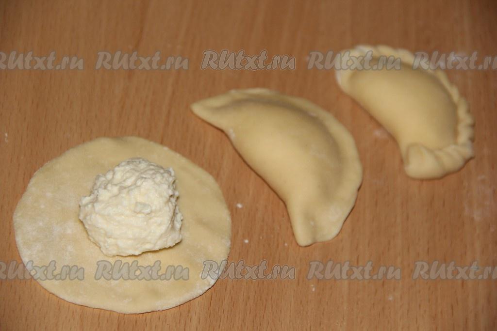 Вареники из творога рецепт пошагово