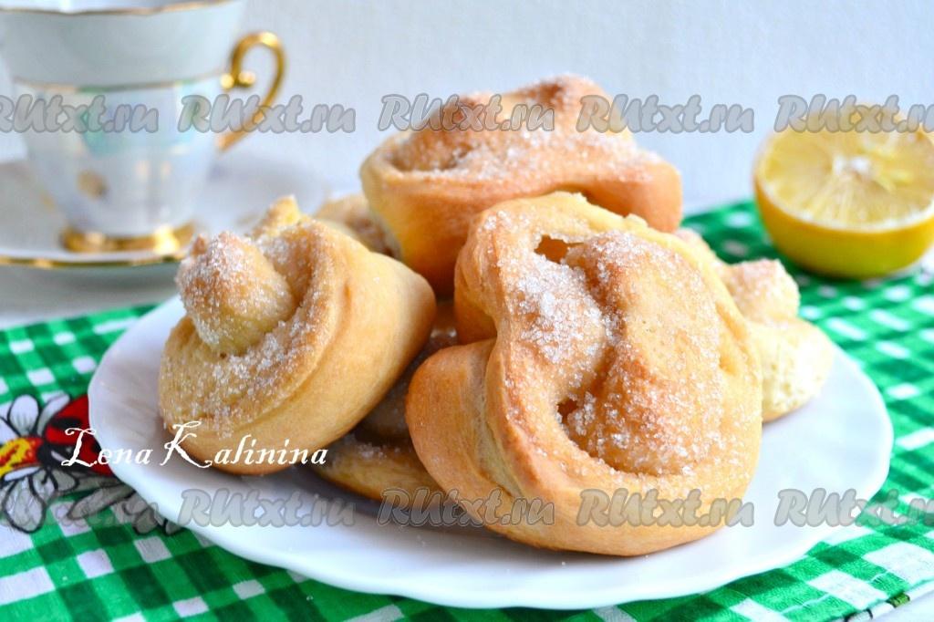 Рецепт приготовления булочек с сахаром