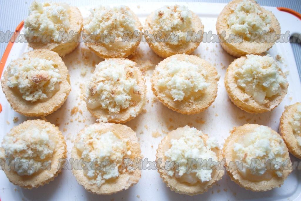 пирожные в формочках рецепты с фото