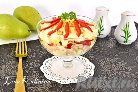 рецепты салатов с фото простые и вкусные ютуб