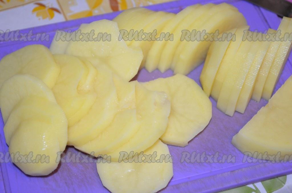 рецепт приготовления запеканки с фаршем и картофелем
