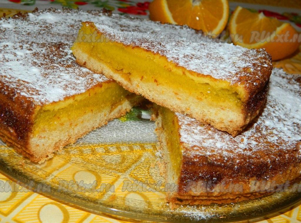 Пирог с апельсинами рецепт в домашних условиях