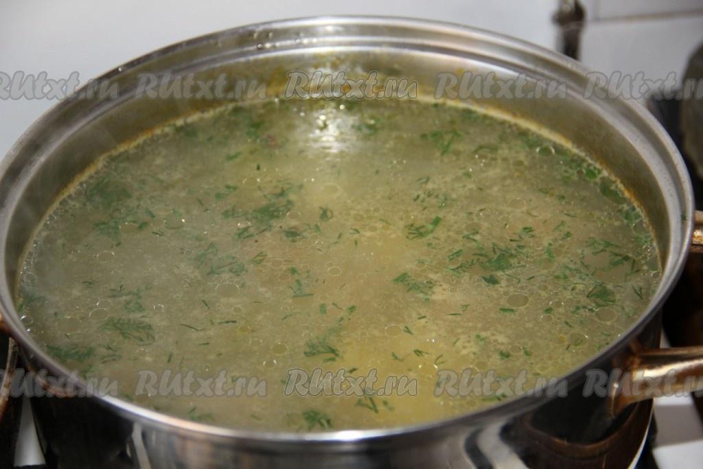 как приготовить суп с фрикадельками и овощами рецепт