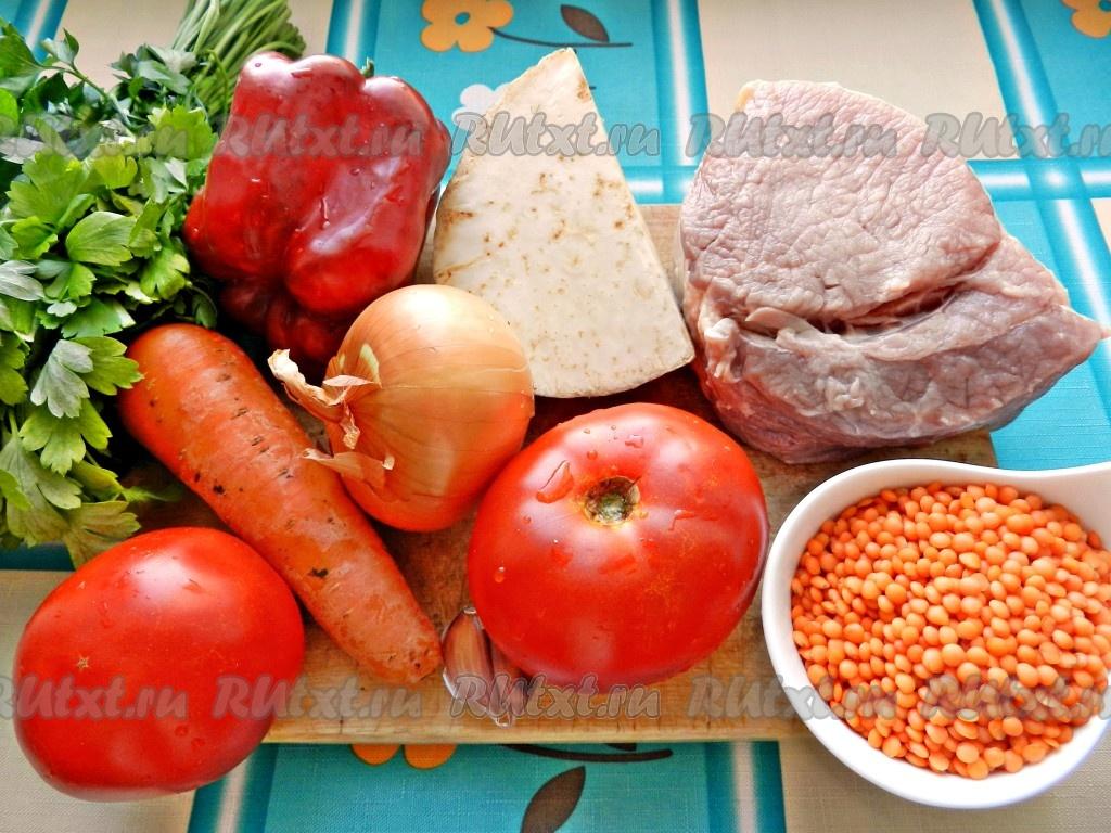 чечевица с говядиной рецепты приготовления
