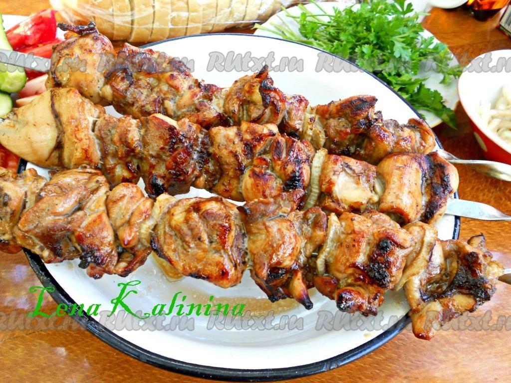 рецепт самого вкусного шашлыка куриных окорочков