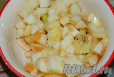 Слойки с яблоками, пошаговый рецепт с фото - Гастроном 10