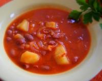 салат с консервированной фасоли и говядины рецепт