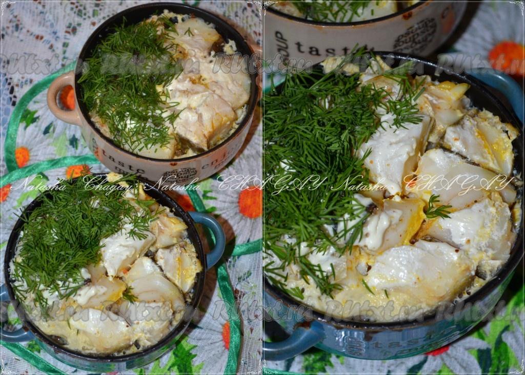 рыба слоями в духовке с картошкой