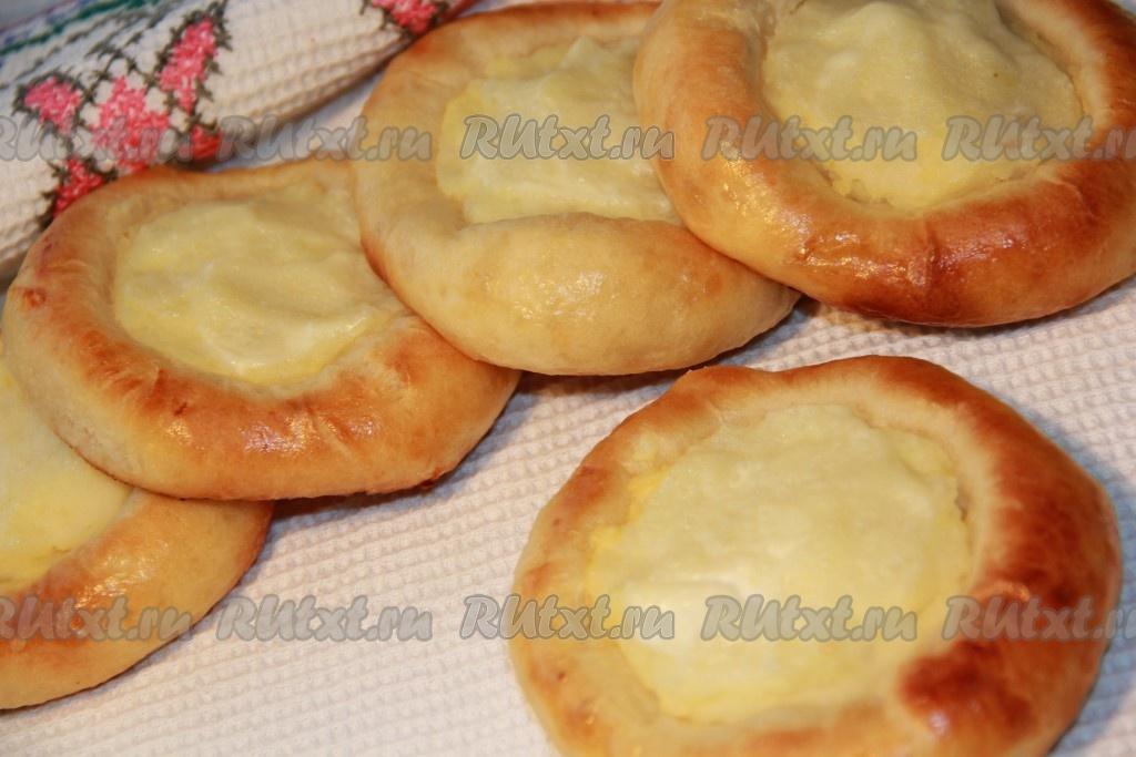 как приготовить вкусные ватрушки с картошкой