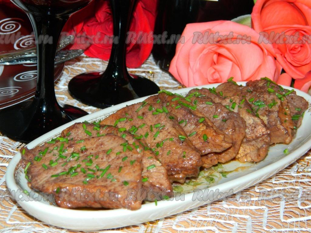рецепты из мясо из свинины