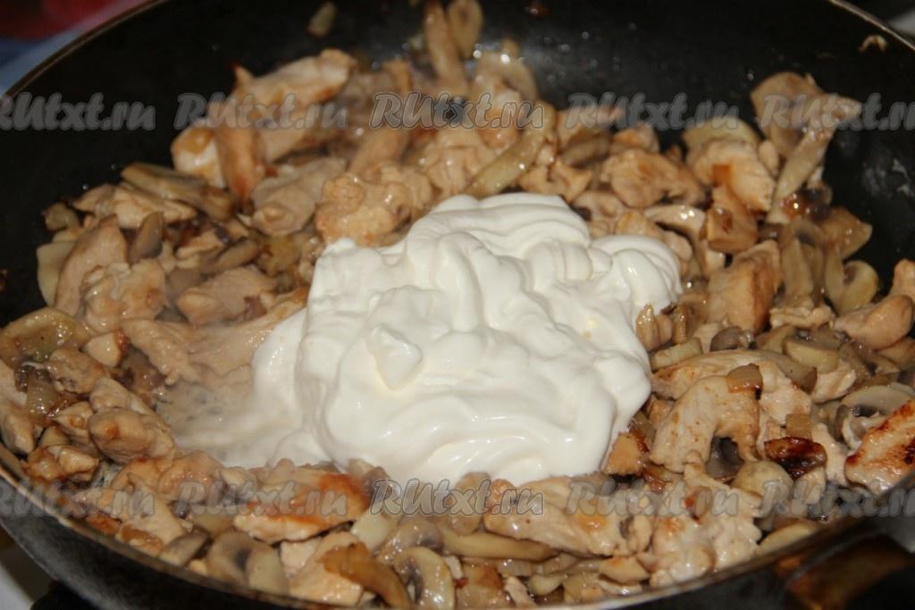 Филе курицы с грибами рецепты простые и вкусные