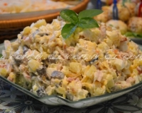 Рецепт салата с курицей и гранатом - рецепт с фото