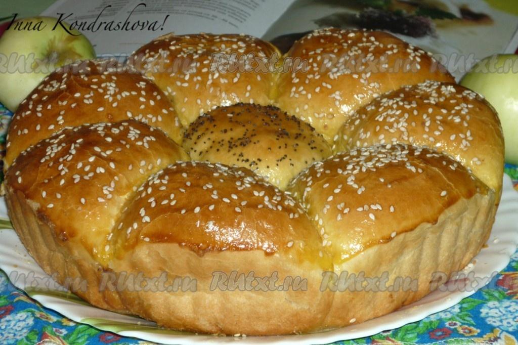 рецепт вкусных булочек из дрожжевого в духовке