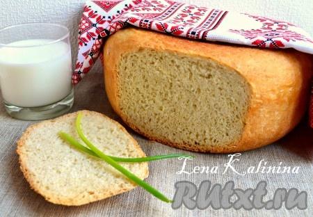 кефирный хлеб в мультиварке