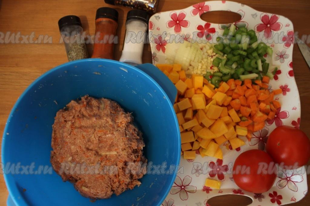 Рецепт овощных тефтелей с фото