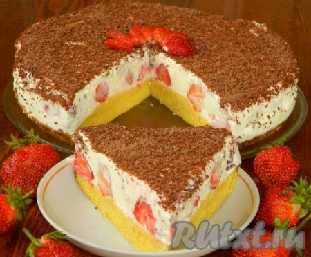 рецепт торта три шоколада с творожным сыром