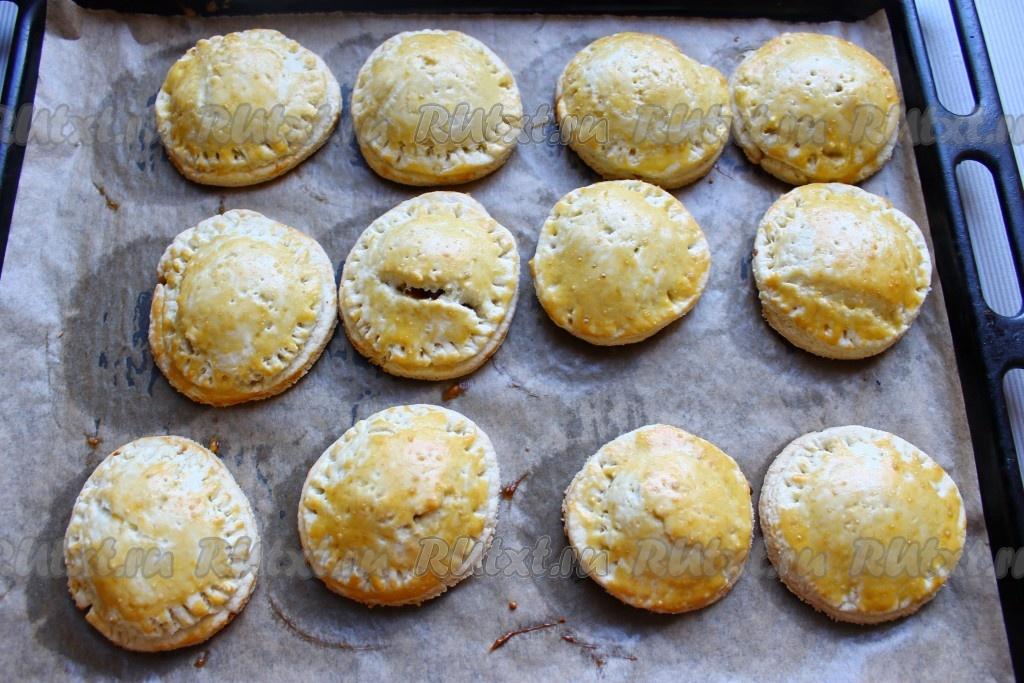 Песочное тесто для пирожков в духовке