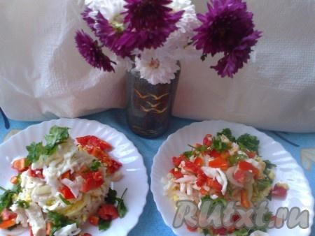 Затем поднимаем бокалы и выкладываем веррины наоборот на тарелку.