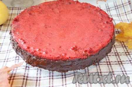 творожный пирог с брусникой рецепт