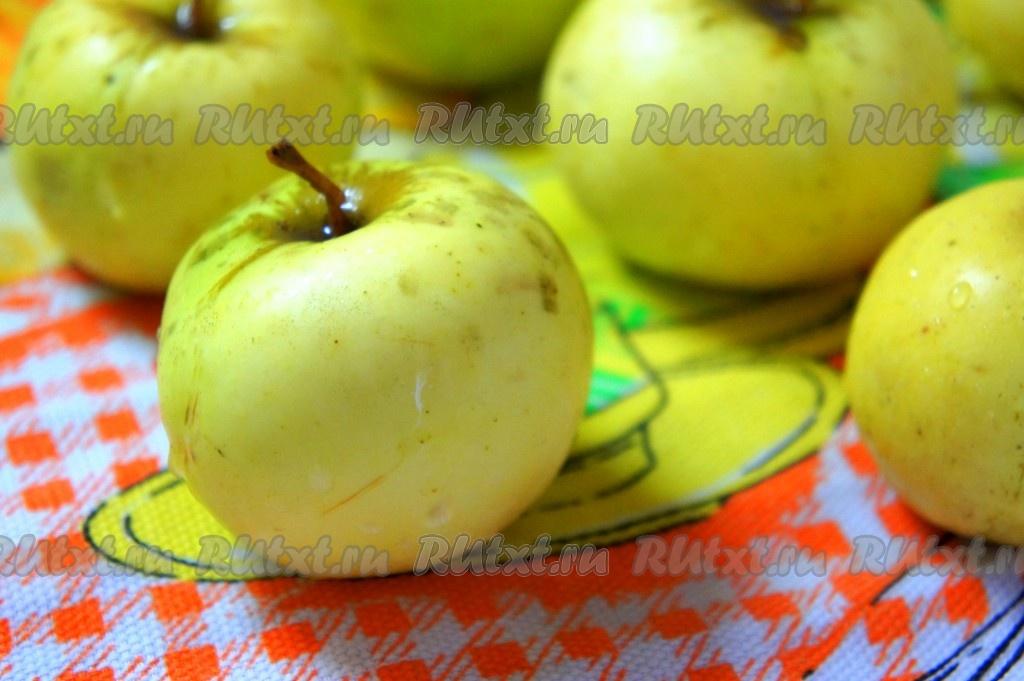 простые запеченные яблоки в духовке рецепт