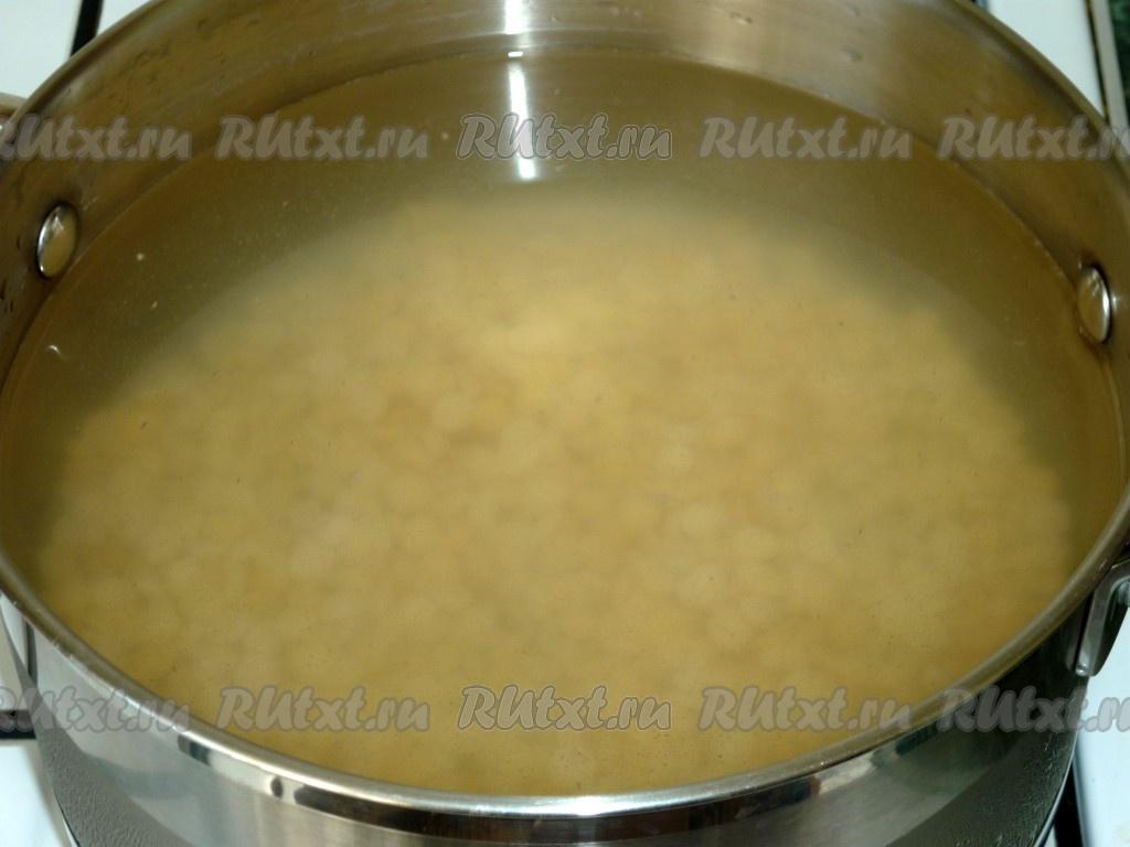 рецепт горохового супа с мясом фото
