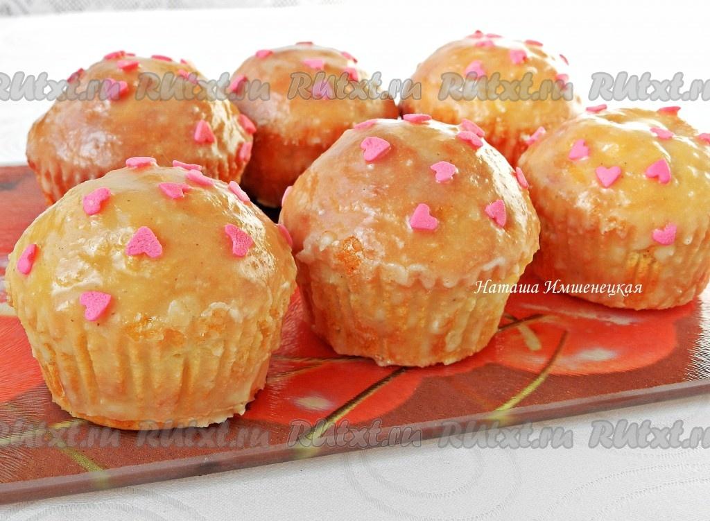Вкусные кексы из сметаны
