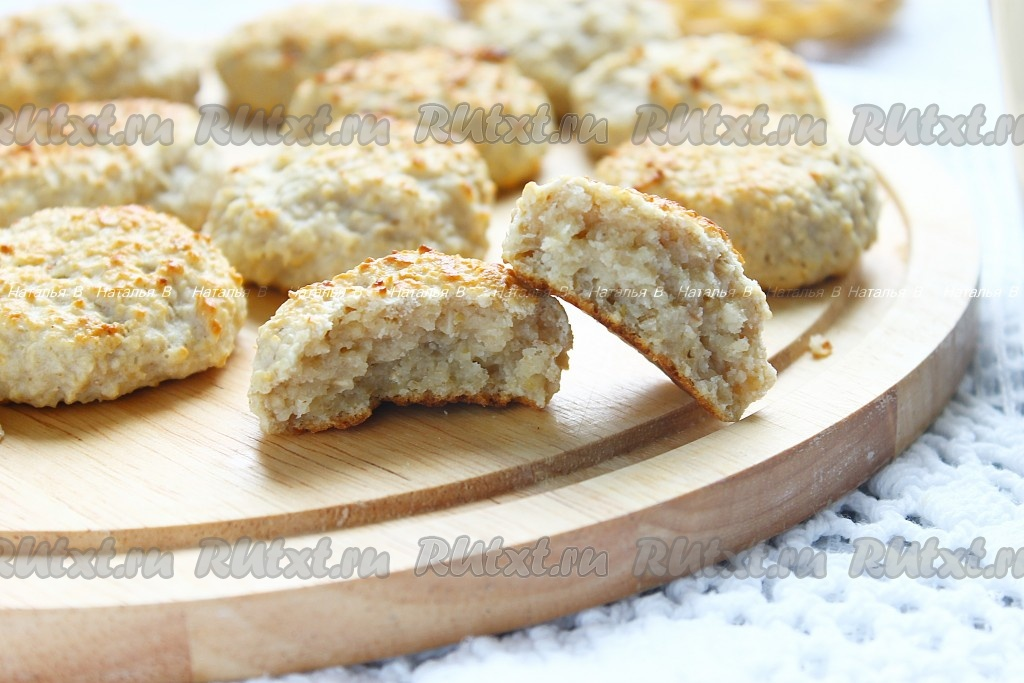 творожное овсяное печенье рецепт с фото