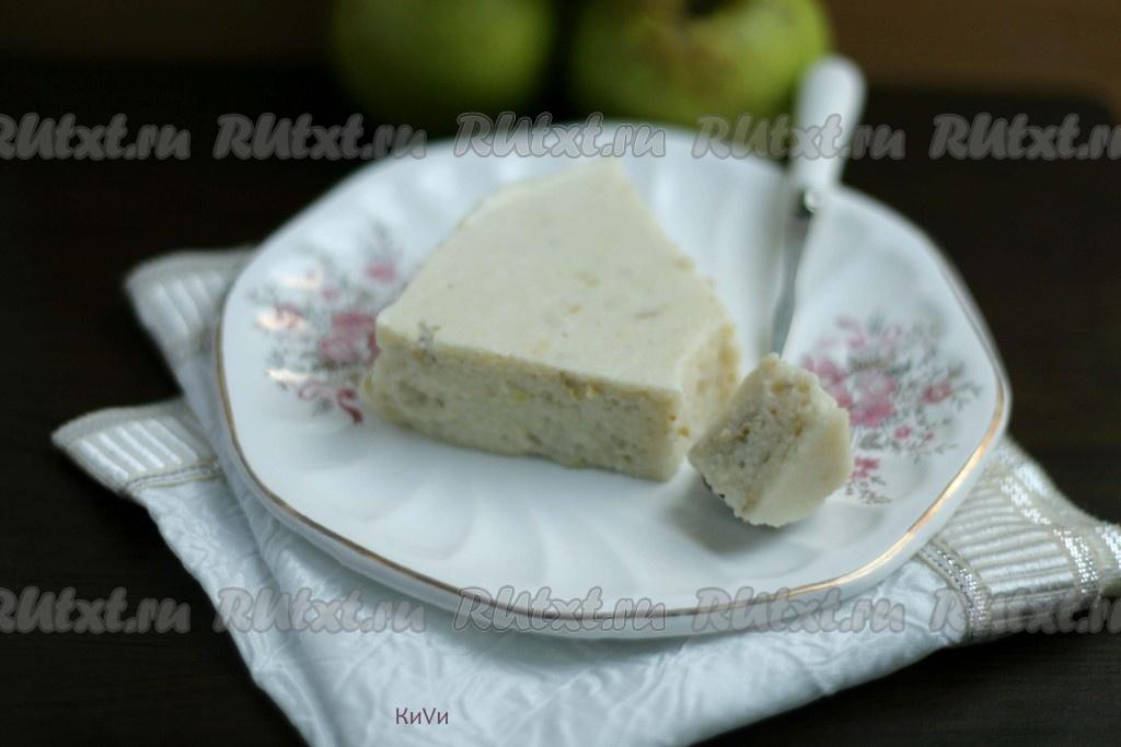 рецепт яблочного суфле