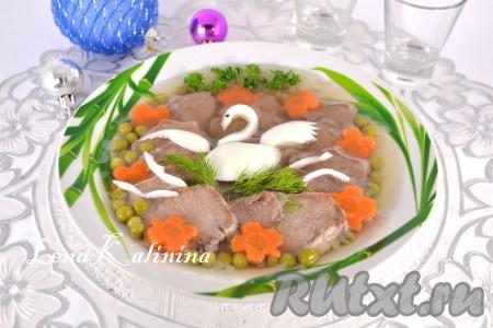 рецепт суп из языка свиного рецепт с фото
