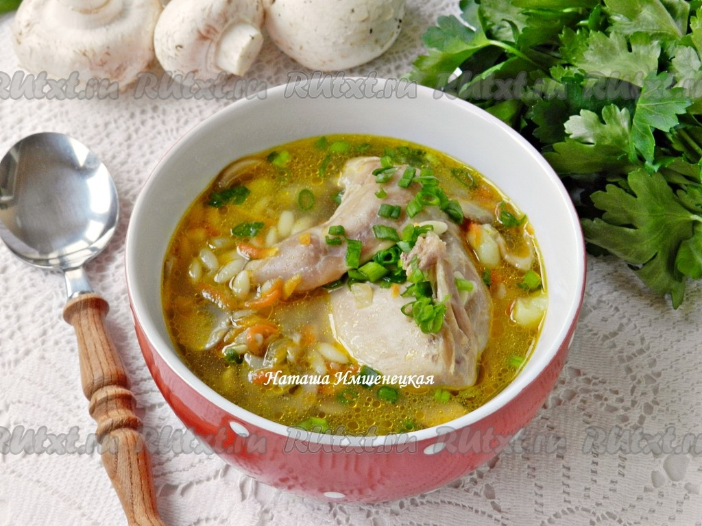 Суп из перепелов рецепт с фото