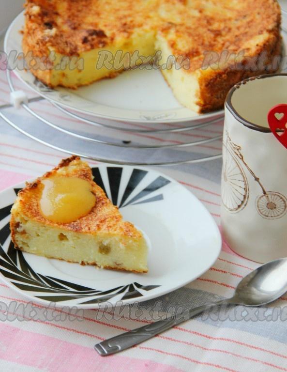рецепт кекс из манной каши