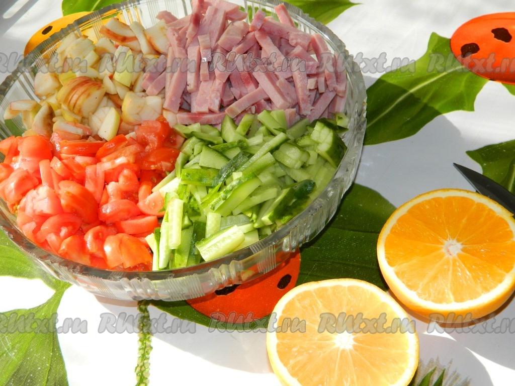 как приготовить австралийский салат