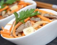 рецепт салата из шампиньонов по корейски