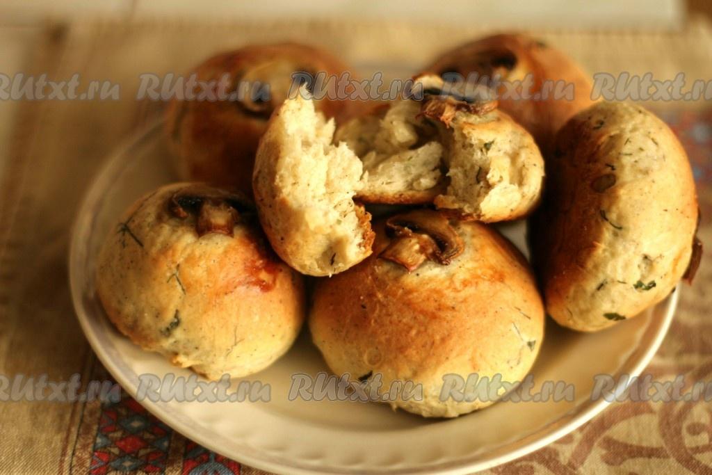 сдобные булочки рецепт с фото на сухих дрожжах