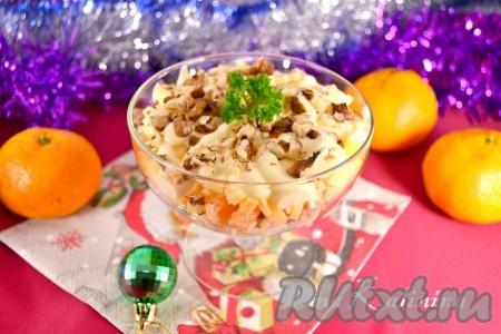 поваренок рецепты салатов с фото простые