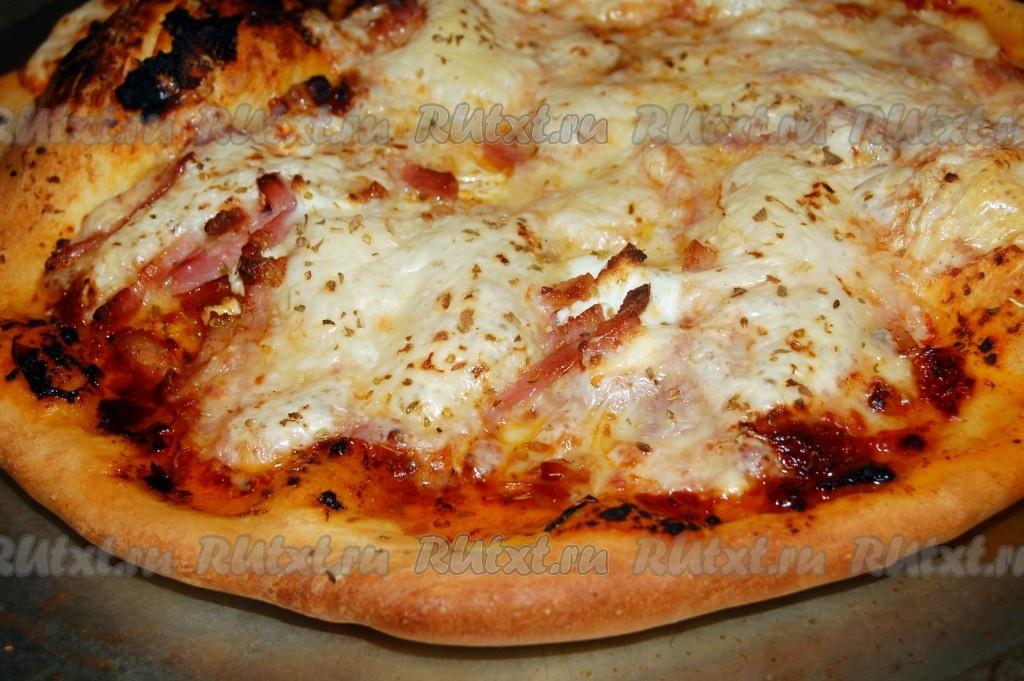 Пицца из картофеля в духовке