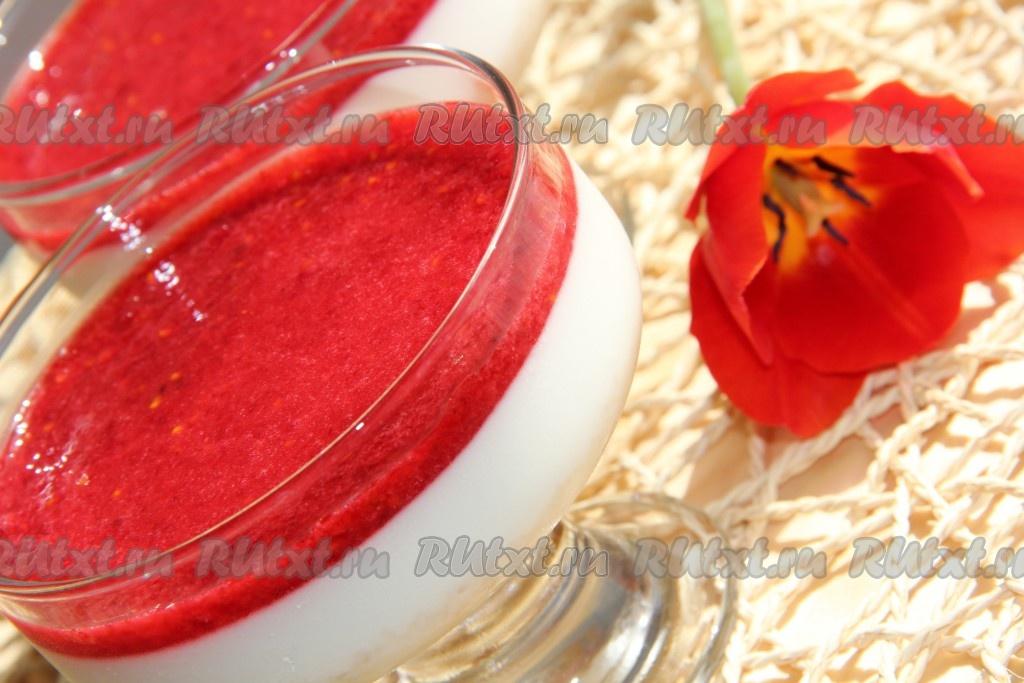 десерт из желатина рецепт