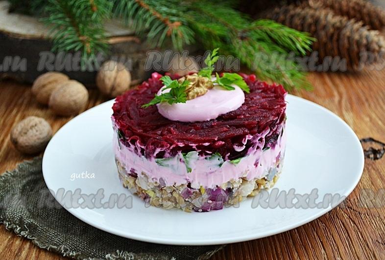 салат из орехов рецепты с фото