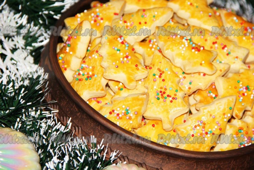 печенье детское фигурное рецепт с фото
