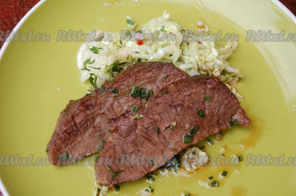 рецепт салата с синей капусты рецепт