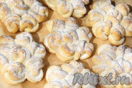 Воздушные кружевные булочки пошаговый рецепт