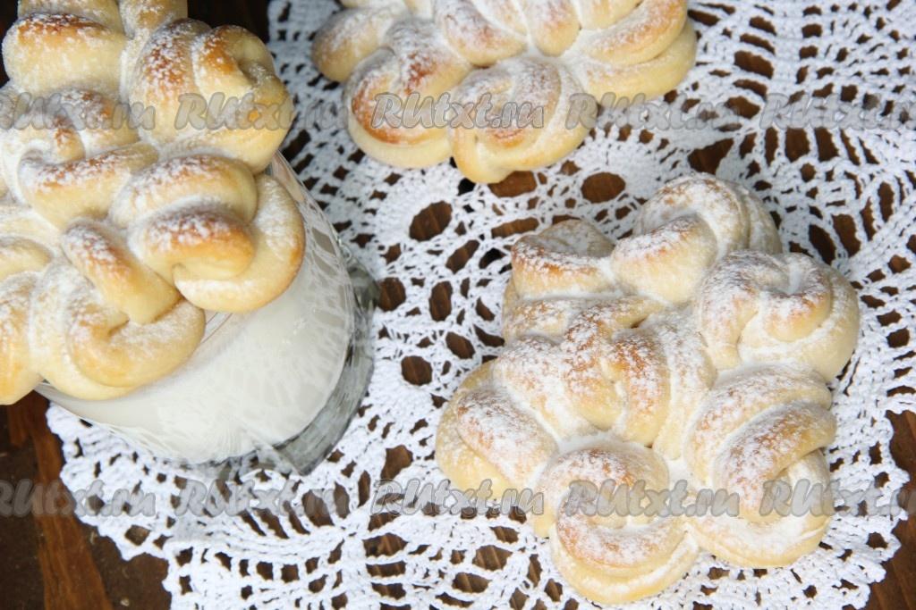 рецепт кружевной булочки