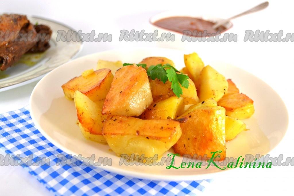 рецепт картошки для запекания в пакете