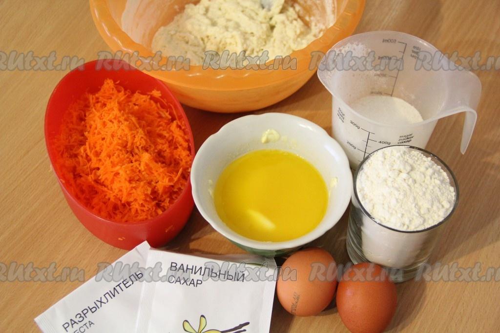 морковный пирог на кефире рецепт простой в духовке