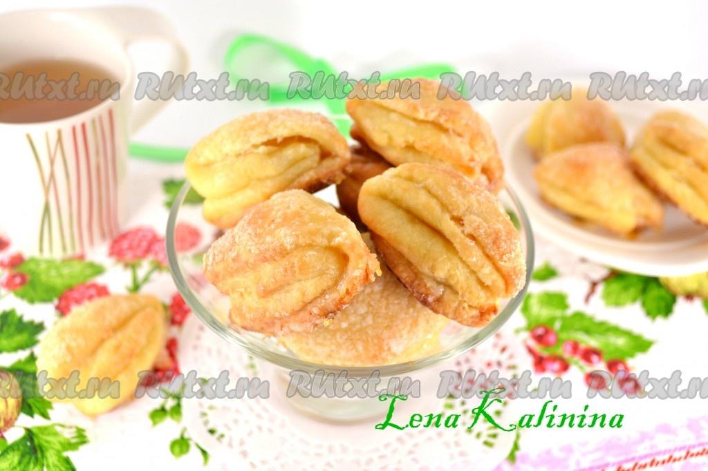 вкусный рецепт печенья с творогом в духовке рецепт