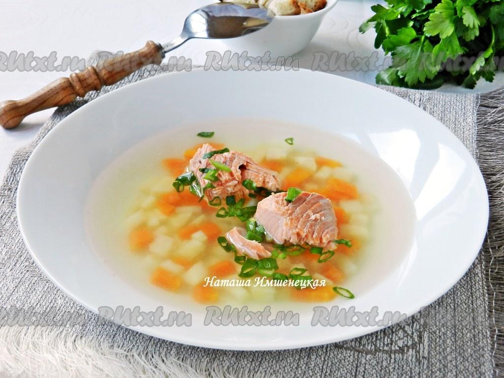 рецепт супа с из свежей рыбы