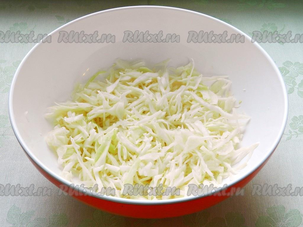 Салат из моркови и капустыы с фото простые и вкусные