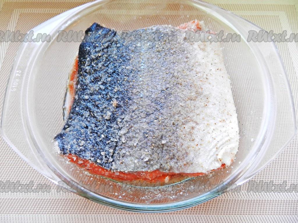 Кижуч соленая в домашних условиях